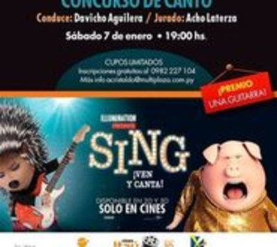 Invitan a concurso de canto