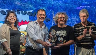 Rolando Chaparro dio un show en festival argentino