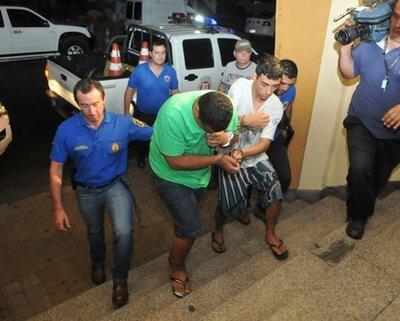 Supuestos sicarios fueron trasladados a Asunción