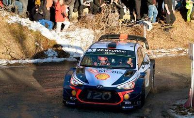 Neuville por delante de Ogier en rally de Montecarlo