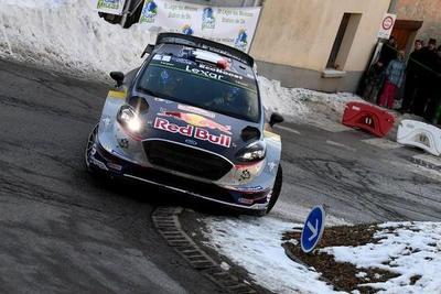 Rally de Montecarlo: Finalmente, Ogier alcanza el liderato