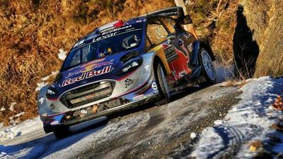 Sebastien Ogier (M-Sport/Ford) gana el Rally de Montecarlo