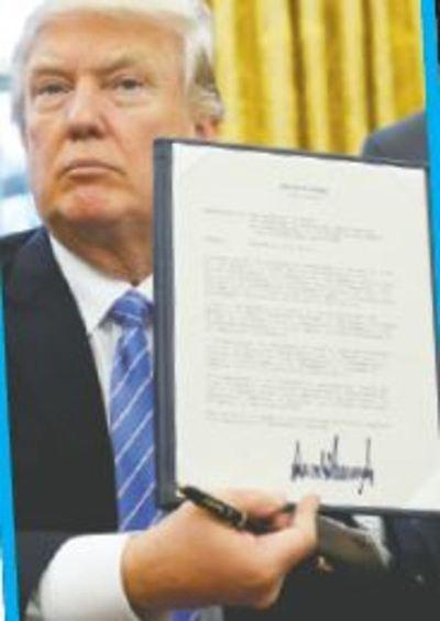 Asumió Trump y ya hizo los primeros cambios