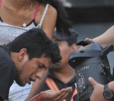 Seis hinchas de Olimpia irán a Tacumbú tras violentos incidentes