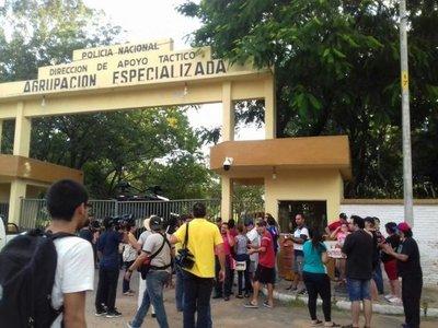Heridos y detenidos tras pintata encabezada por Payo