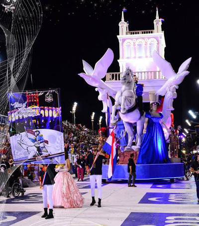 Se vive hoy una nueva edición del Carnaval Encarnaceno