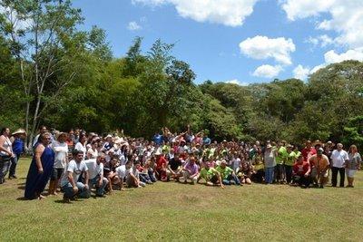 Tradicional familia se reunió en San Juan Bautista