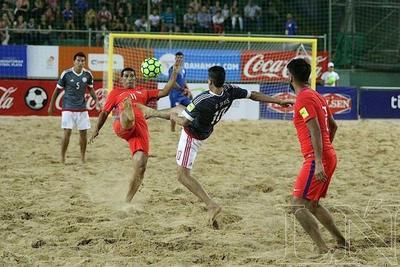Fútbol de Playa: Paraguay con gran victoria ante Chile 7-3