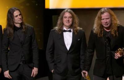 La respuesta del líder de Megadeth ante el mega fail en los Grammy que miles aplaudieron