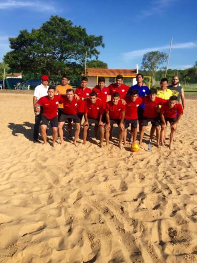 Comenzará fase final del Interligas Fútbol Playa para la Liga Nacional