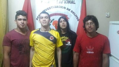 """""""Chancho-stones"""" en libertad: no dispararon"""
