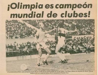 Hace 38 años Olimpia se hacía grande