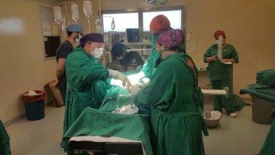 Exitoso trasplante de riñón en el Hospital Nacional
