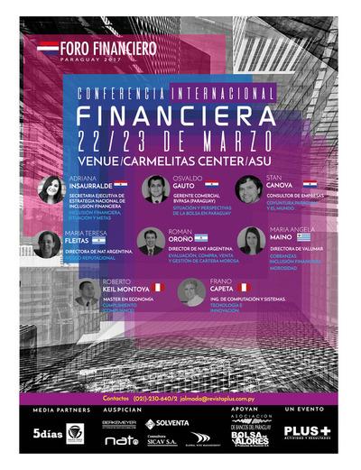 Revista PLUS lleva adelante el Foro Financiero Paraguay 2017
