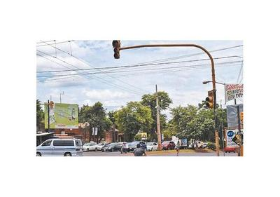 Ediles autorizan reparación de semáforos en Ciudad del Este
