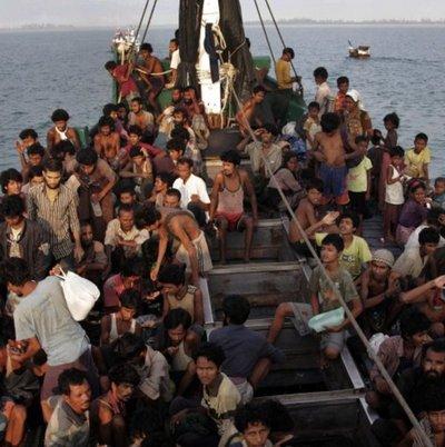 Llegan a China más de 20.000 refugiados de Birmania