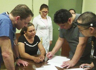 Cirujanos de EE.UU. atienden en Itauguá