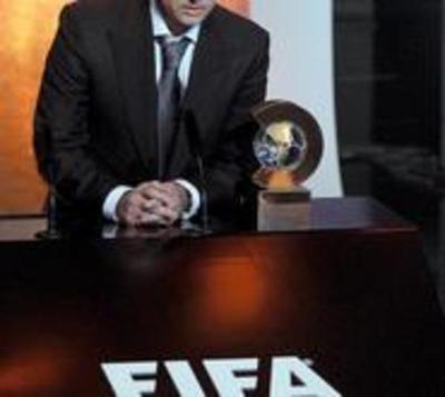 Mourinho es electo el mejor entrenador del 2010
