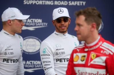 Arranca la Formula 1 y Hamilton sale primero