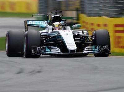 Hamilton se quedó con la pole position