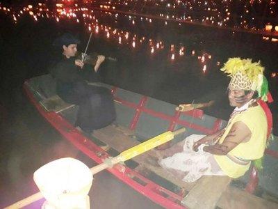 El violinista canoero que sorprendió en Tañarandy