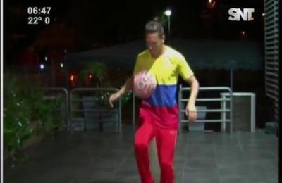 Colombiano habilidoso con el balón