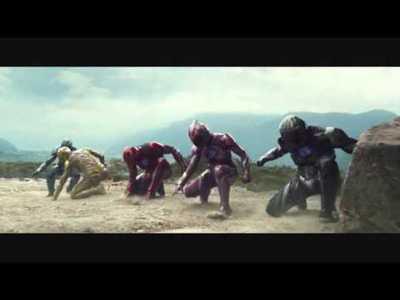 """Tráiler de """"Power Rangers"""""""