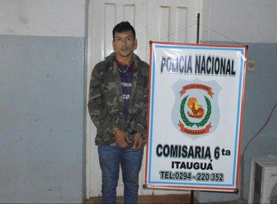Detienen a un hombre por tener marihuana en Itauguá