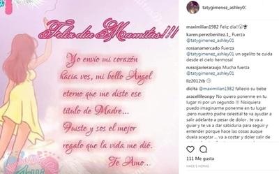 """La Modelo Taty Giménez Y Un Emotivo Saludo Por El """"Dia De Las Madres"""""""