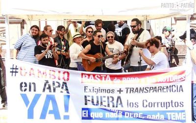 """Organizan festival artístico para un """"Cambio en APA ya"""""""