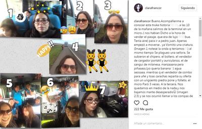 Clara Franco Viajó A Pedro Juan Y Así Vivió El Viaje
