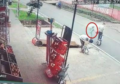 """VIDEO  """"De repente la niña cruzó y reaccioné como pude"""""""