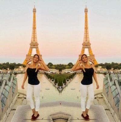 La Modelo Thelma Ortigoza Y Su Viaje Por Europa