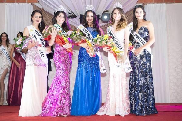 """Resultado de imagen para Coronaron a las """"Reinas de Concepción 2017"""""""