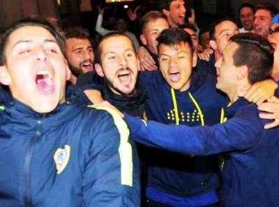 A falta de dos fechas, Boca Jr. festeja en Argentina