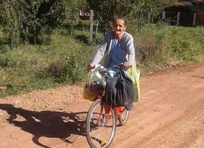 La abuela que cautivó con su bicicleta