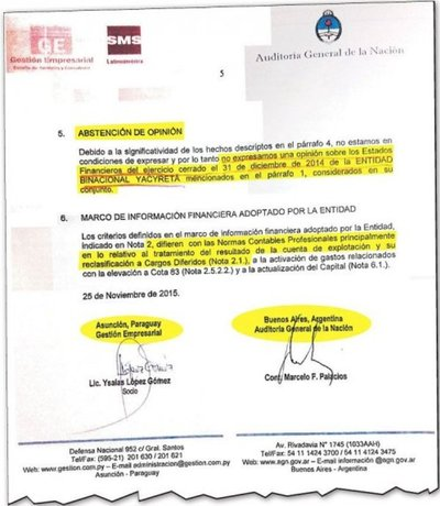 Paraguay debe reclamar la igualdad de derechos en Yacyretá, afirman