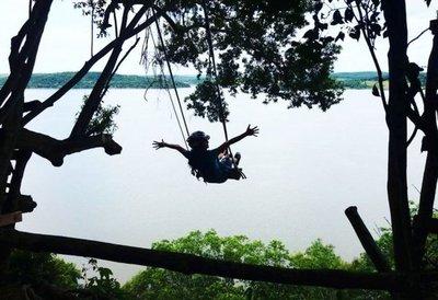 Nueva Alborada: Un dulce y exótico rincón a orillas del río Paraná
