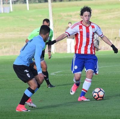 La Albirroja Sub 15 disputó su primer amistoso frente a Uruguay