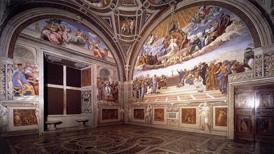Revelan dos obras del pintor Rafael Sanzio, de hace 500 años