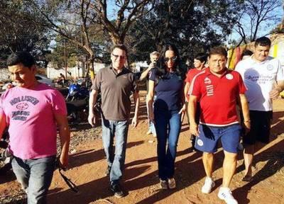 """Mili en campaña por el interior del país: """"Es una experiencia muy enriquecedora"""""""