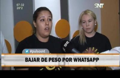 Bajar de peso por Whatsapp