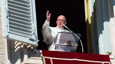 "Papa pide ""liberar al Mundo"" del terrorismo"