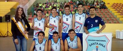 Colegio Santa Ana busca el título nacional en vóley y clasificación al Sudamericano