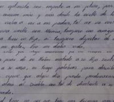 La carta del asesino por placer a la madre de su víctima