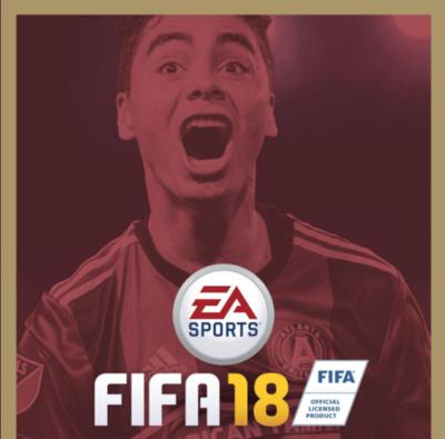 Miggy, portada de FIFA 18 para USA