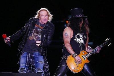 La potencia de The Who y Guns N' Roses en Santiago de Chile