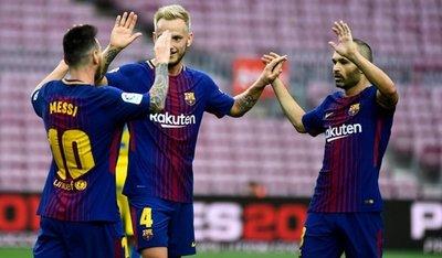 Barcelona suma el pleno al siete