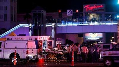 Las Vegas, capital del terror: Era como una zona de guerra