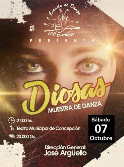 """""""Diosas"""" se presenta en Concepción"""